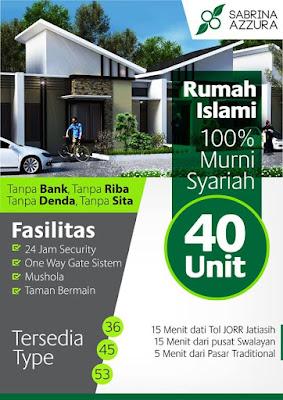 Cluster Sabrina Azzura – Perumahan Syariah di Narogong Bantargebang dekat Bekasi Kota