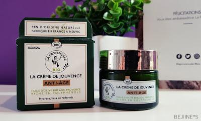 La Provençale Bio : Crème de Jouvence Anti-Âge
