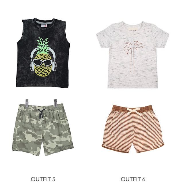 creation of boys summer outfits