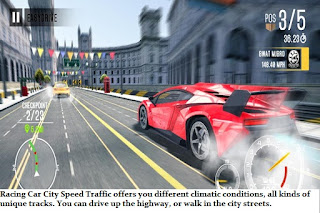 Racing Car City Speed Traffic apk