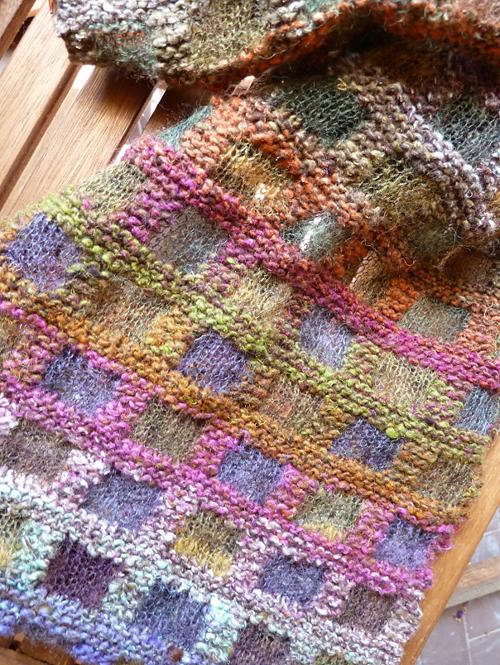 Echarpe Mosaique - Knitting Pattern