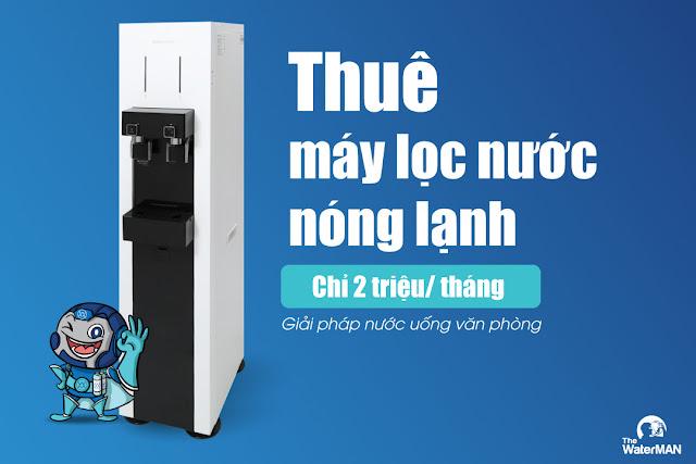 Thuê máy lọc nước nóng lạnh