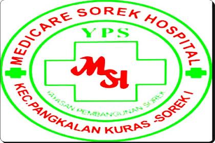 Lowongan Kerja Riau: Rumah Sakit Medicare Sorek Januari 2021