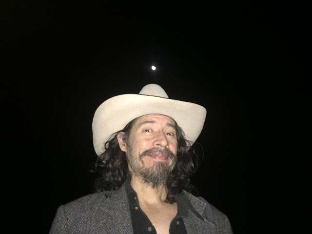 Ahgamen Keyboa at night under the eclipse moon