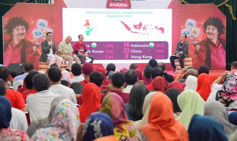 Go Digital, 500 Ribu Warung Digital Mitra Bukalapak Tersebar di Jabar