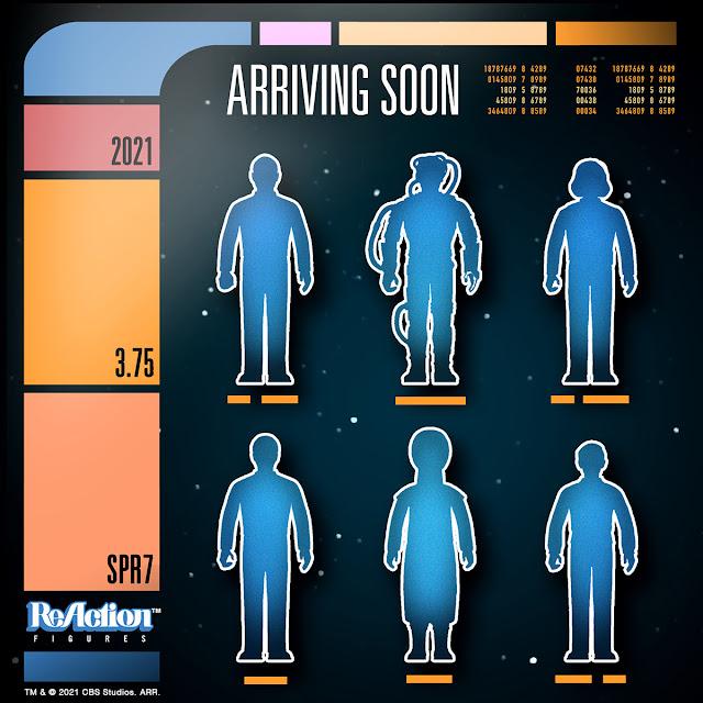 Super 7 Star Trek The Next Generation ReAction Figures