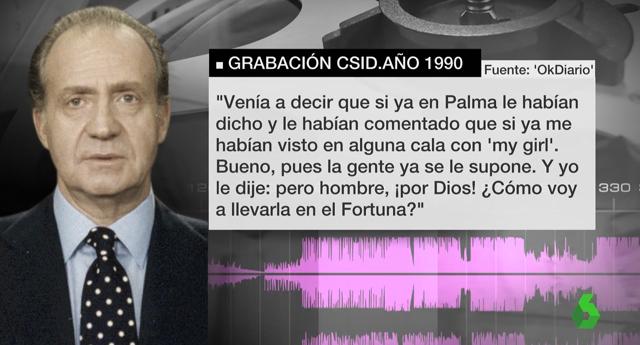Revelan nuevas grabaciones del rey Juan Carlos en un chalé de Madrid