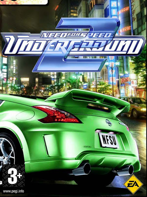 NEED FOR SPEED UNDERGROUND 2 Cover Photo