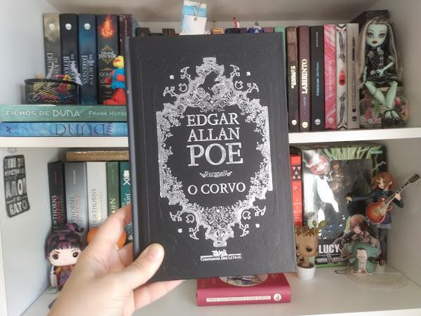 Comprei essa edição LINDA de O corvo, de Edgar Allan Poe