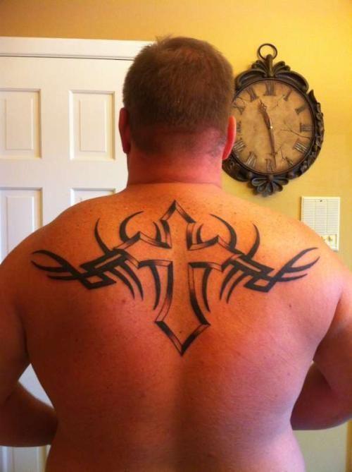 210+ Unique Cross Tattoos For Guys (2020) Celtic Designs ...