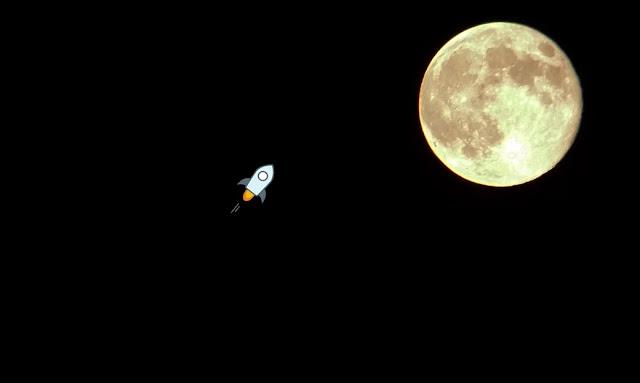 XLM Stellar Lumens Moon