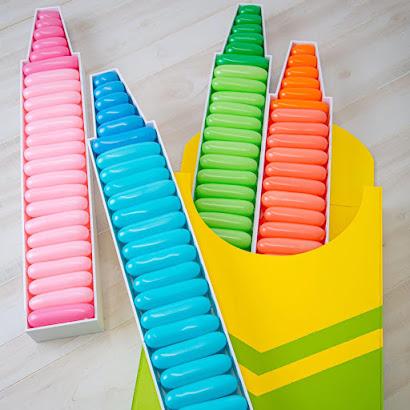 School Colouring Pencil Decor by Creative Heart Studio