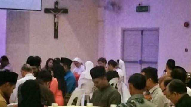 Umat Muslim Malaysia Berbuka Puasa di Gereja Katolik Menuai Pujian