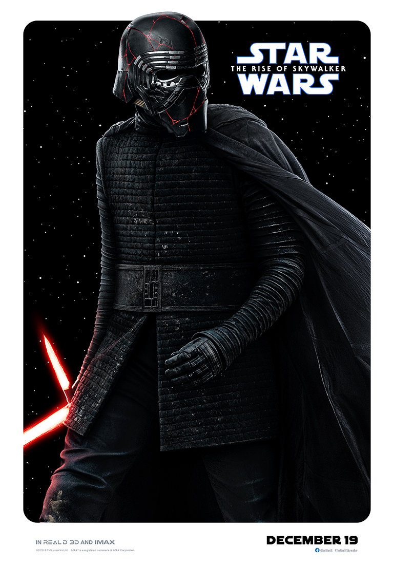 Star Wars: The Rise of Skywalker kylo ren poster