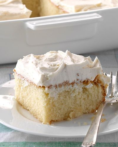 Classic scratch cake Food picture