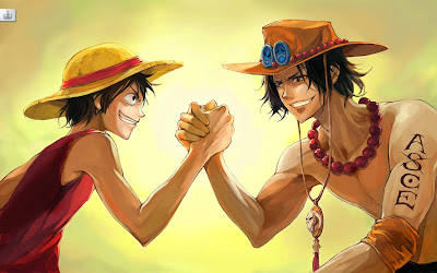 Portgas D. Ace - Monkey D. Luffy (ONE PIECE)