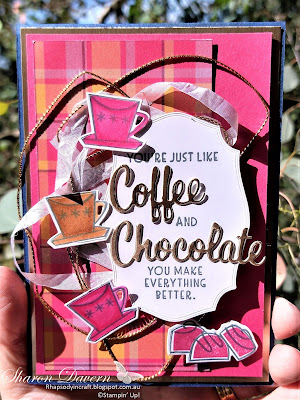Rhapsody in craft, Melon Mambo, Nothing's Better Than, Love you more than dies, Plaid Tidings, STampin' Blends, Friendship Cards, Colour Creation Showcase, Stampin' Up