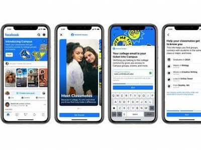 Facebook launches Campus, a college student-only social network