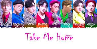 Ateez Take Me Home Song LyricsTuneful