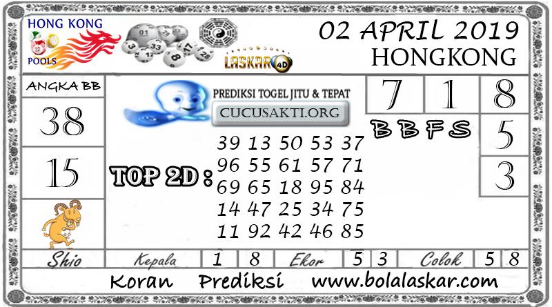 Prediksi Togel HONGKONG LASKAR4D 02 APRIL 2019