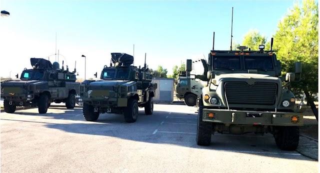 Netline fournira 87 systèmes  de lutte contre les EEI pour véhicules C-Guard RJ au ministère espagnol de la Défense