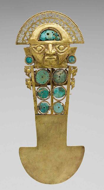 Faca sacrifical Chimú, Metropolitan Museum of Art, NYC