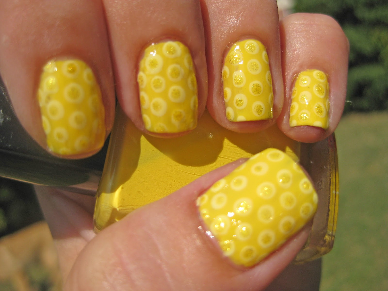 Nail Narcotics 31 Day Challenge Yellow