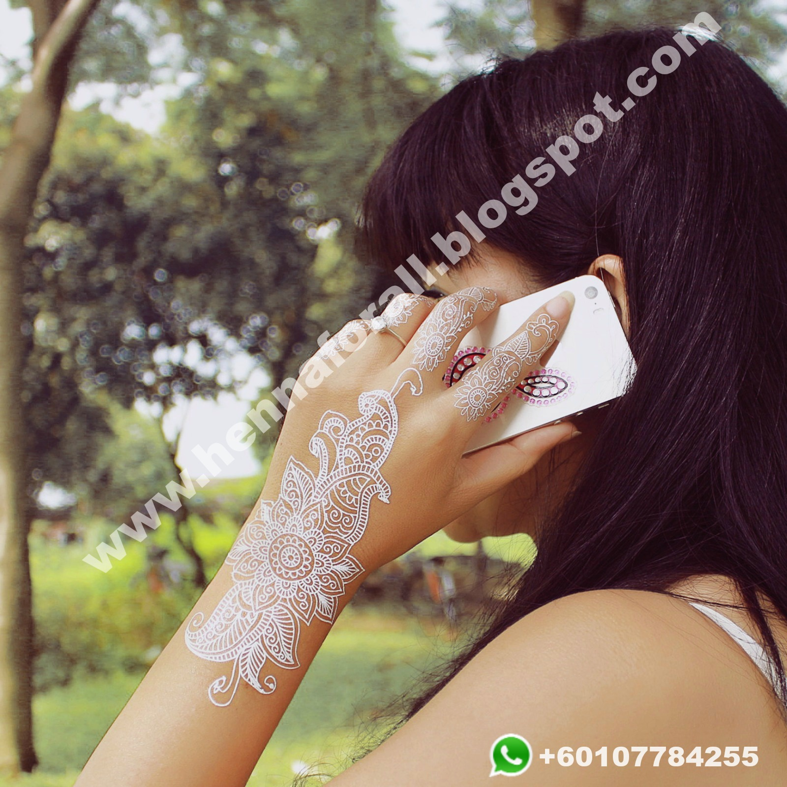 WHOLESALE OF HENNA AND FASHION ACCESSORIES WORLDWIDE White Henna