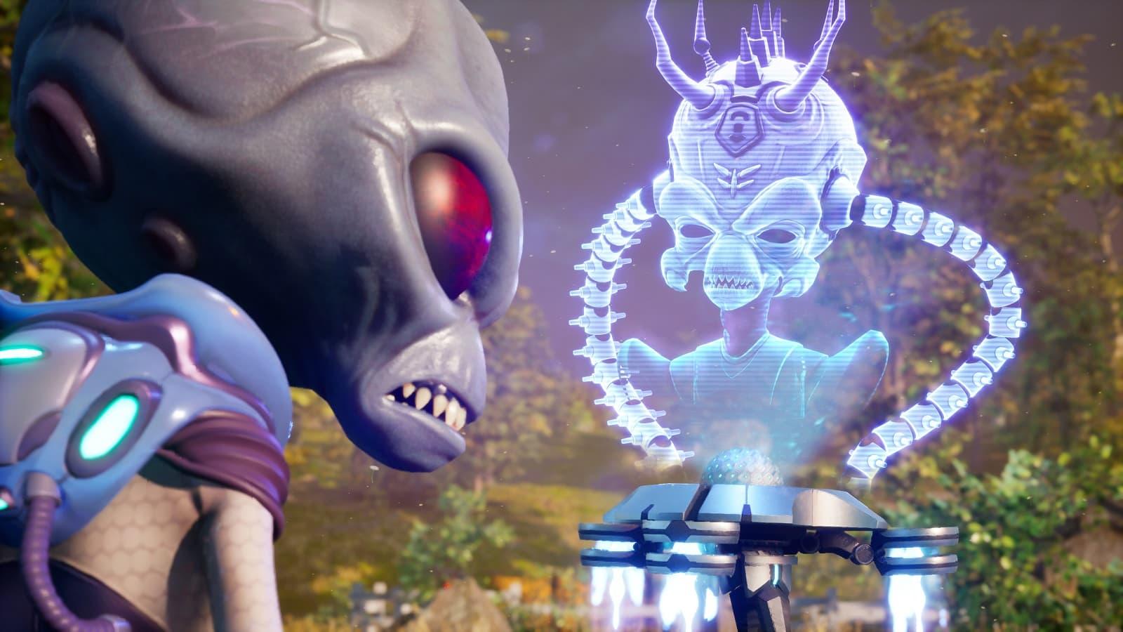 Рецензия на игру Destroy All Humans! - ремейк комедии про злобного пришельца Крипто-137 - 03