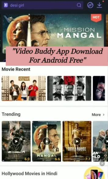 video buddy app download for Android free