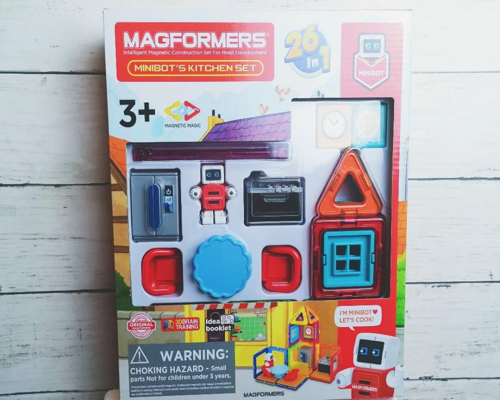 Magformers Minibot's Kitchen Set review