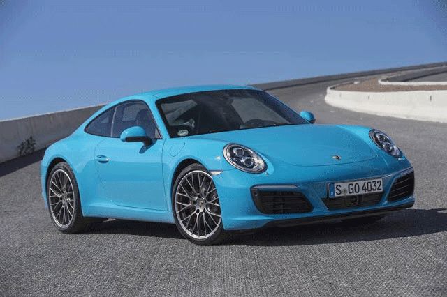 Porsche 911 Carrera - Cheap new supercars