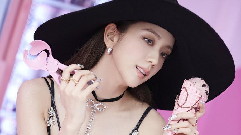 Jisoo, BLACKPINK, Ice Cream, 4K, #3.2727
