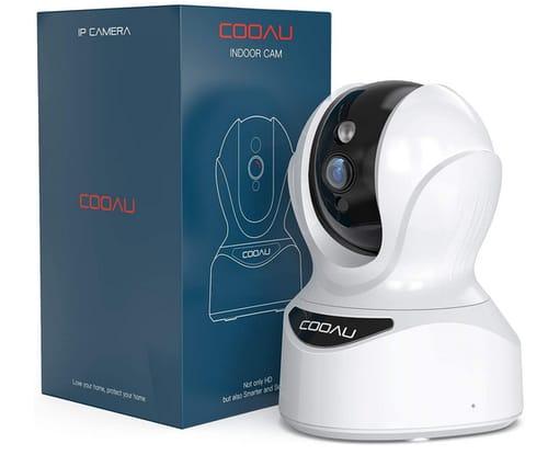 COOAU WiFi Home IP Indoor Security Camera
