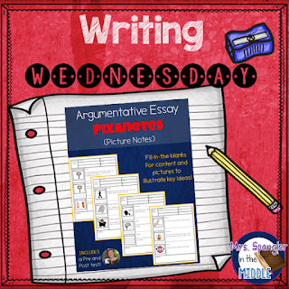 Looking for a great way to begin your argumentative essay unit?  Use Pixanotes to introduce critical content vocabulary!