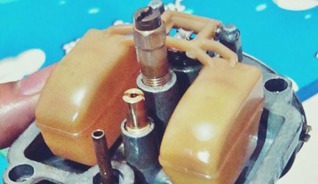 cara membersihkan karburator