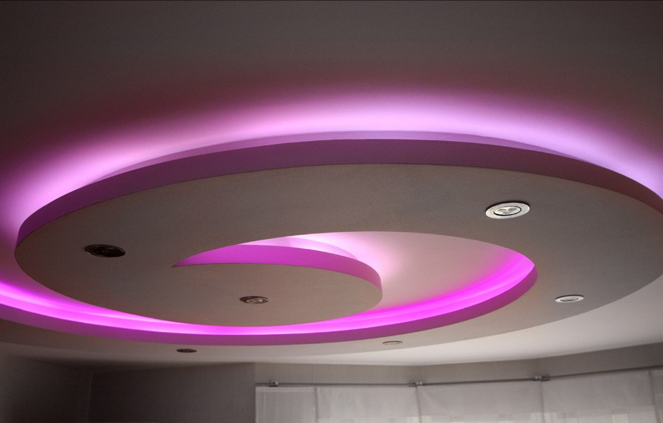 Led ceiling lighting ideas. 25 cool bathroom lighting ideas and ...