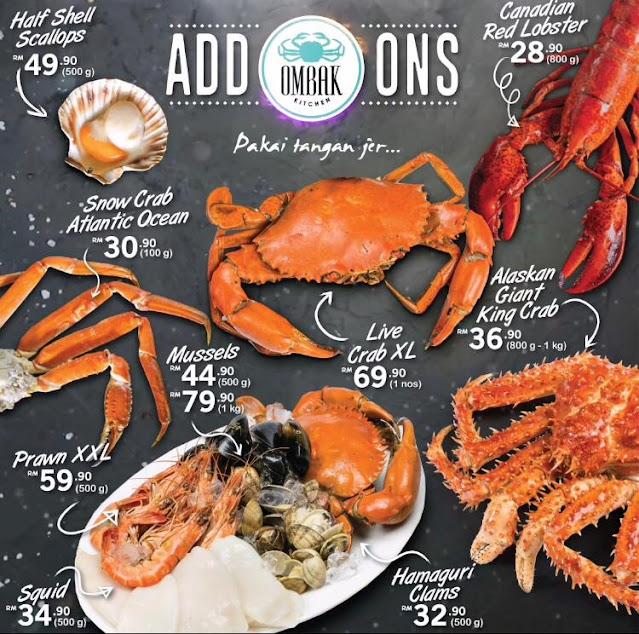 seafood sedap bangsar murah