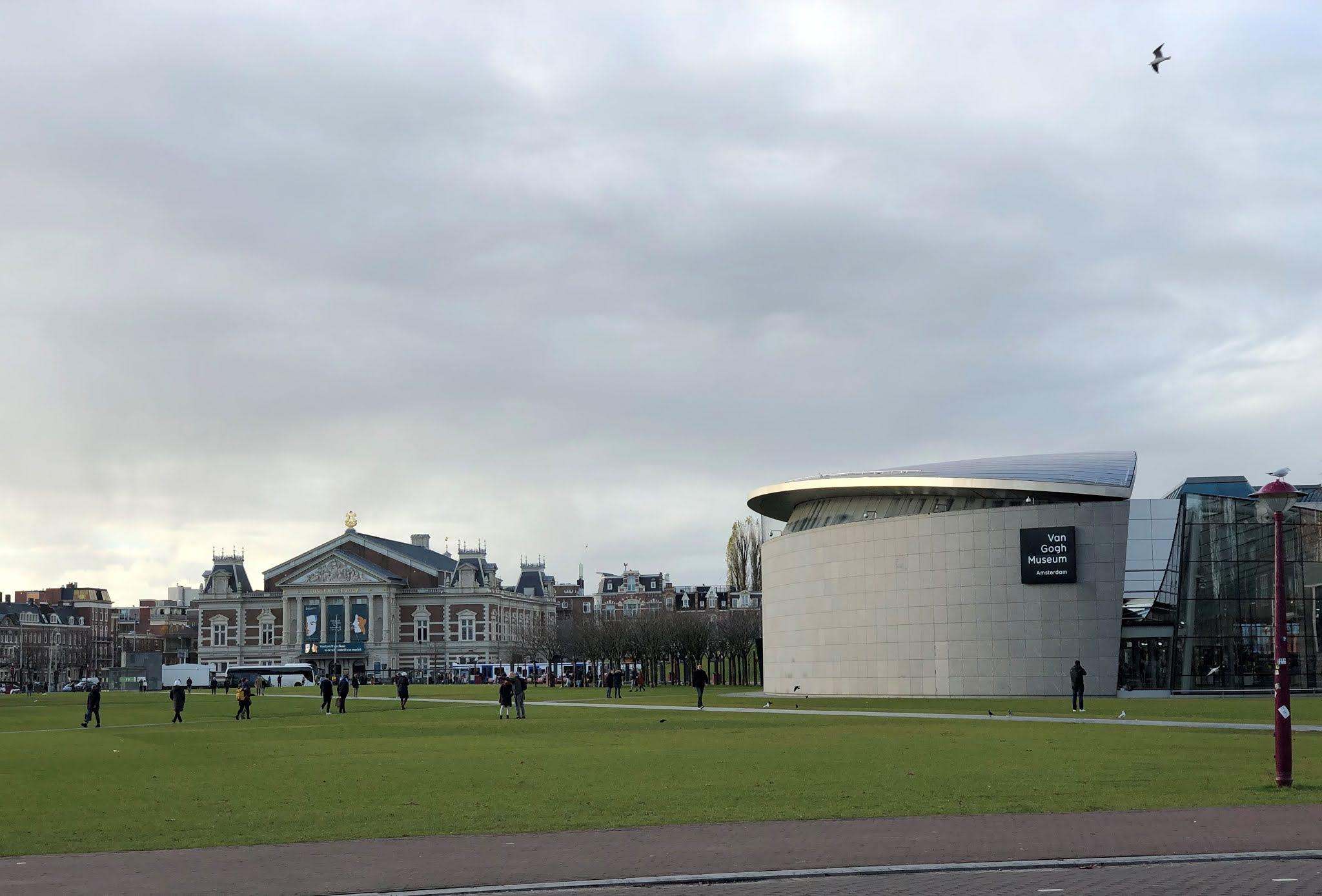 متحف فان غوخ في امستردام