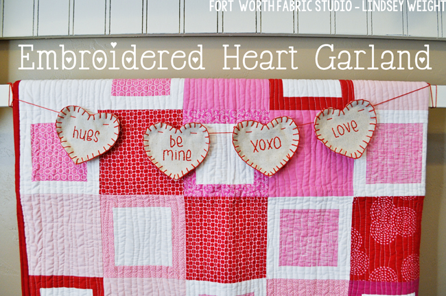 Heart Garland Tutorial