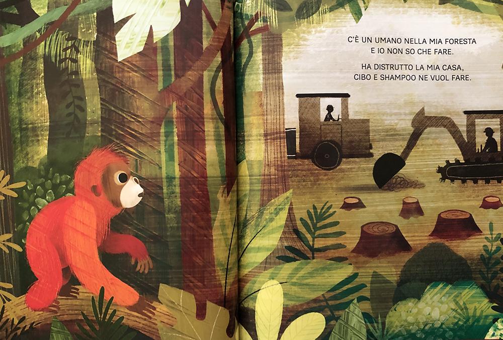 un orango nella mia cameretta