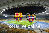 مباراة ليفانتي وبرشلونة بث مباشر بتاريخ 11-05-2021 الدوري الاسباني