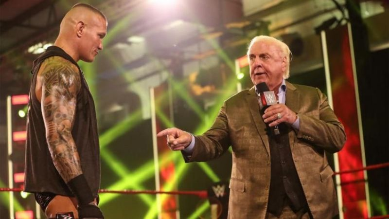 Ric Flair tired of current role in WWE; wants a shot at top WWE Championship