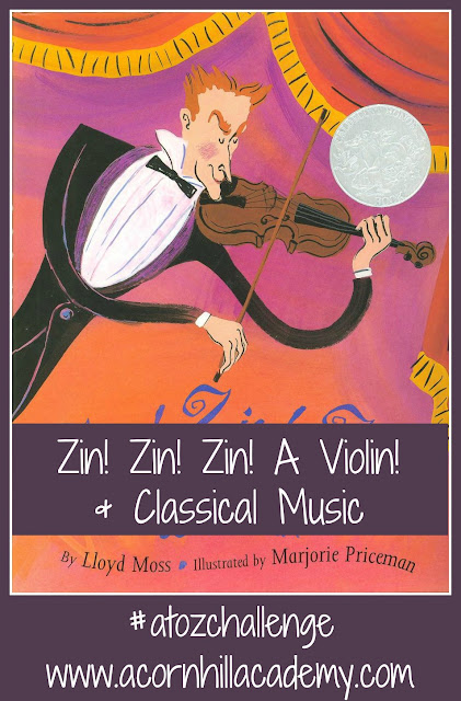 Zin! Zin! Zin! A Violin! And Other Books on Classical Music
