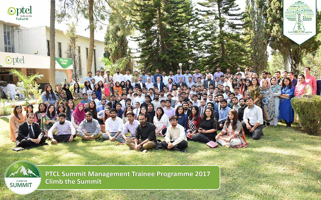 PTCL  Summit Program 160 Talented Young Graduates