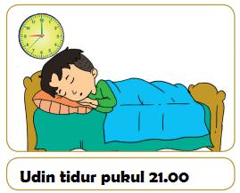 Udin tidur pukul 21.00 www.simplenews.me