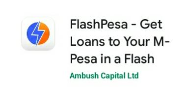 FlashPesa app Paybill, apply loan repayment