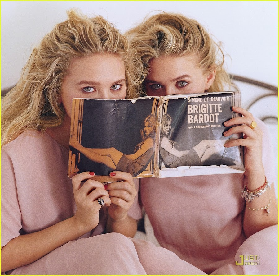 Mary-Kate & Ashley Olsen Vogue 2011 3D