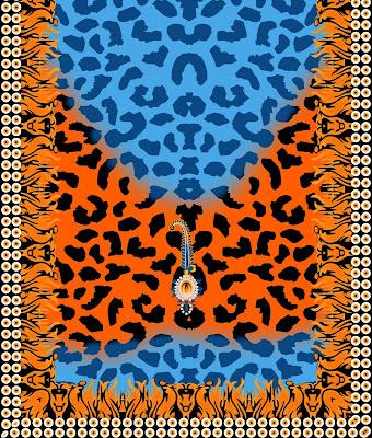 Lavanya-Geometric-Textile-Kaftan-67-Back