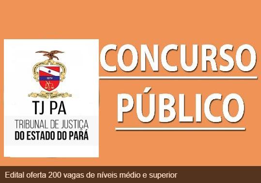 Tribunal de Justiça do Pará lança edital de concurso para nível médio e superior
